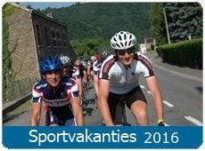 Sportvakantie Fietsen Wielrennen 2016