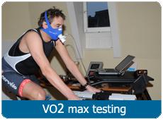 VO2 max testing