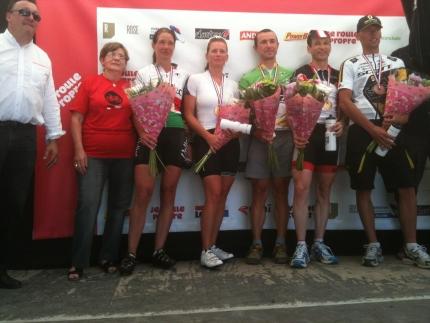 Ingrid Haast wint La grimpee du Ventoux 2012