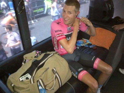 Ryder Hesjedal ready for the Giro